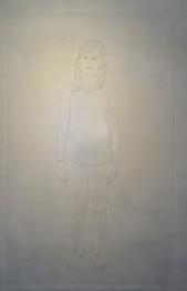 Perempuan Itu - Marker on Acylic sheet - 120x90cm